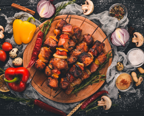 summer kebabs