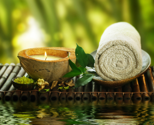 treating yourself spa