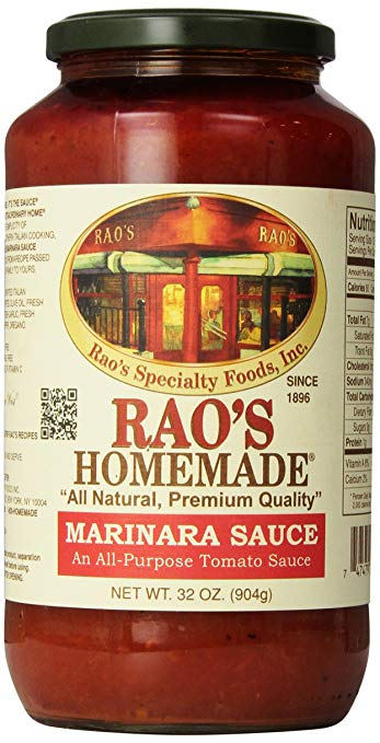 Rao's homemade marinara